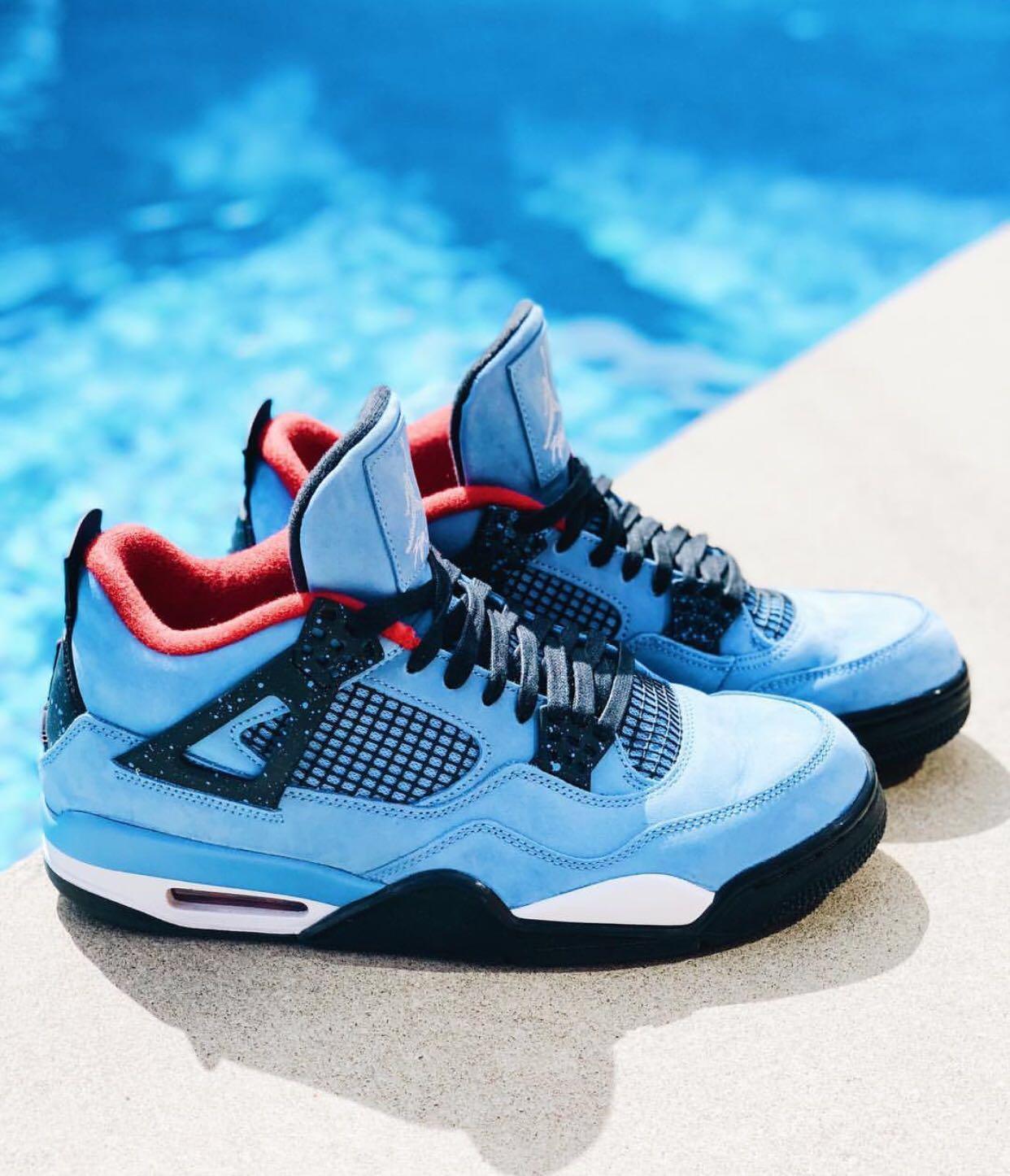 low priced e4611 59e5e Nike Air Jordan 4 Retro x Travis Scott Cactus Jack, Men's ...