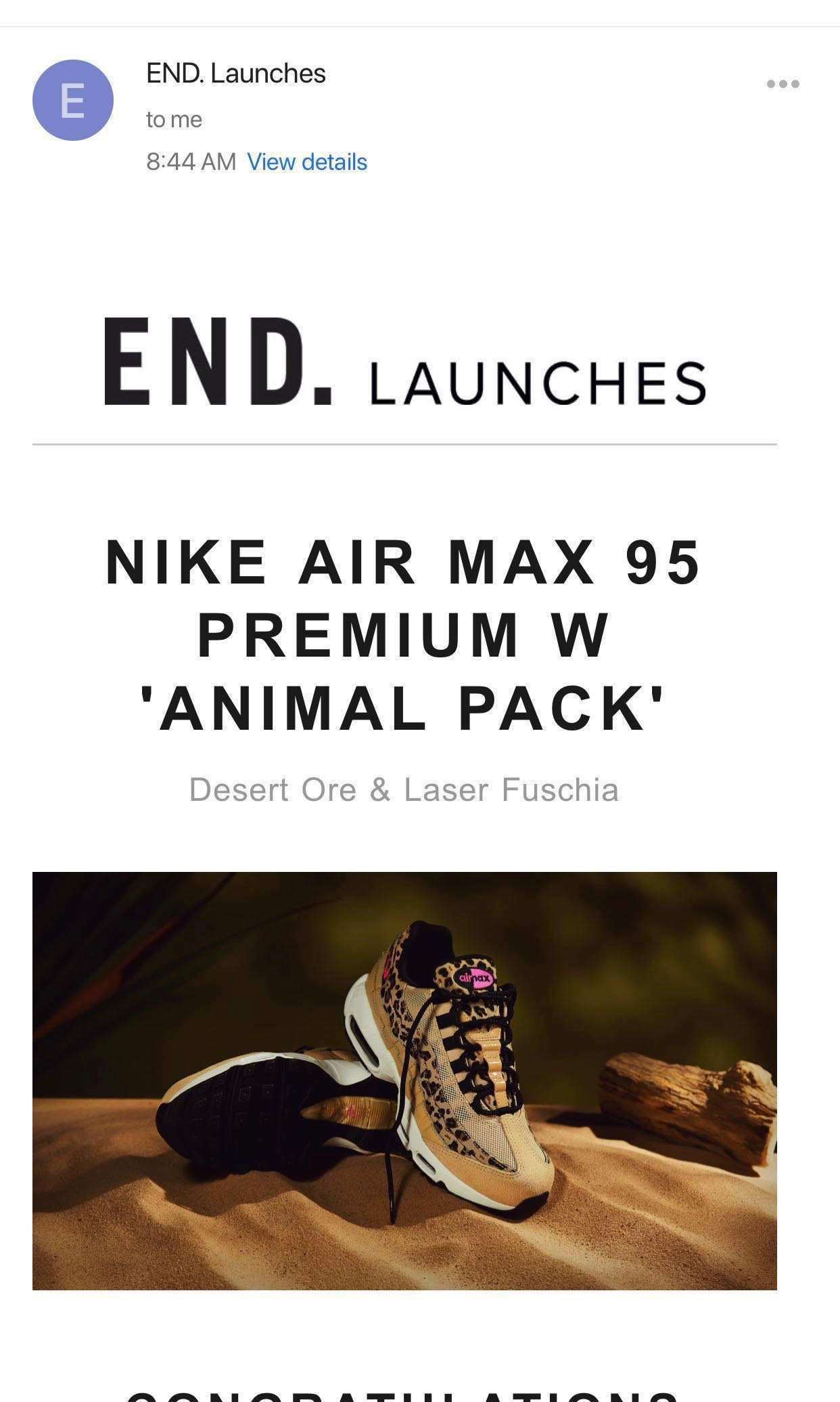 b1fb25ebcc5 Nike Air Max 95 Premium W  animal pack