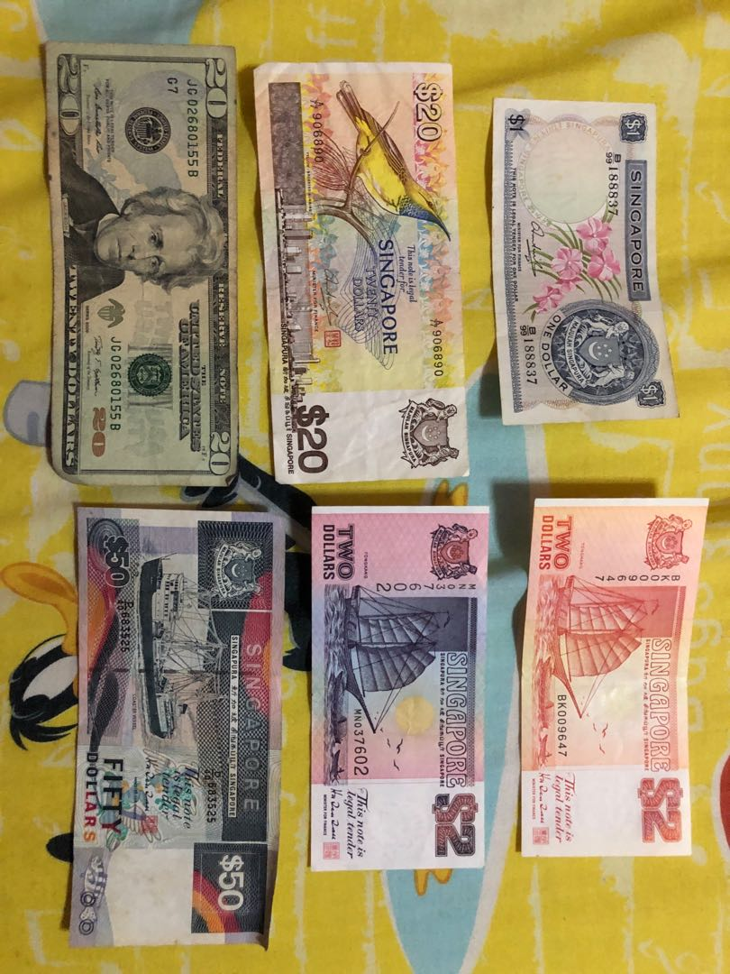 Old notes, Vintage & Collectibles, Currency on Carousell
