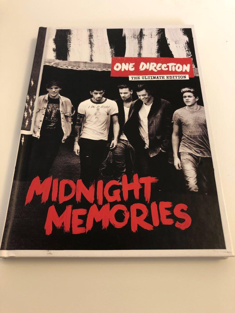 one direction- midnight memories ultimate edition album