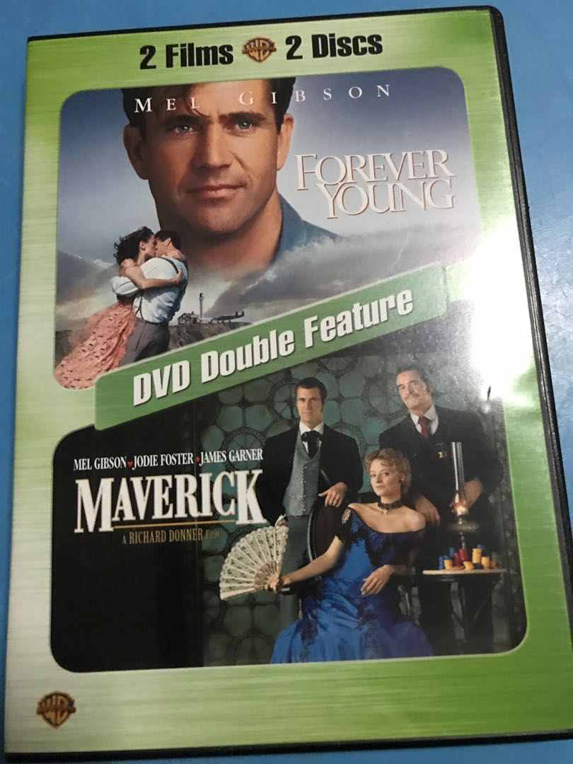 724856e5534 Original Double Feature DVD Movie Mel Gibson Collection  Forever ...