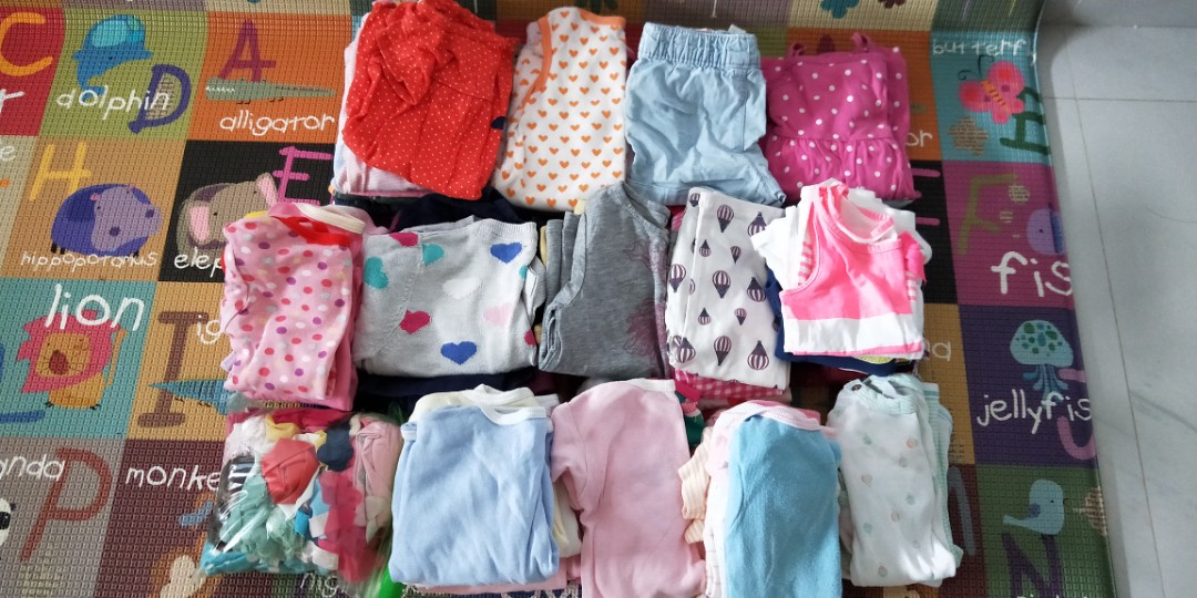 cc8cb6da7f0b3 Preloved (64pcs) Baby Girl Clothes, Babies & Kids, Babies Apparel on ...