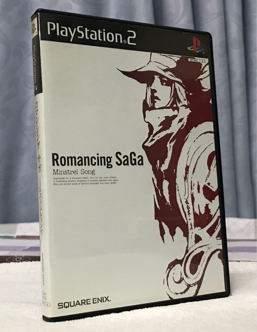 PS2 Play Station 2 Romancing SaGa Minstrel Song 浪漫傳說 日版中古