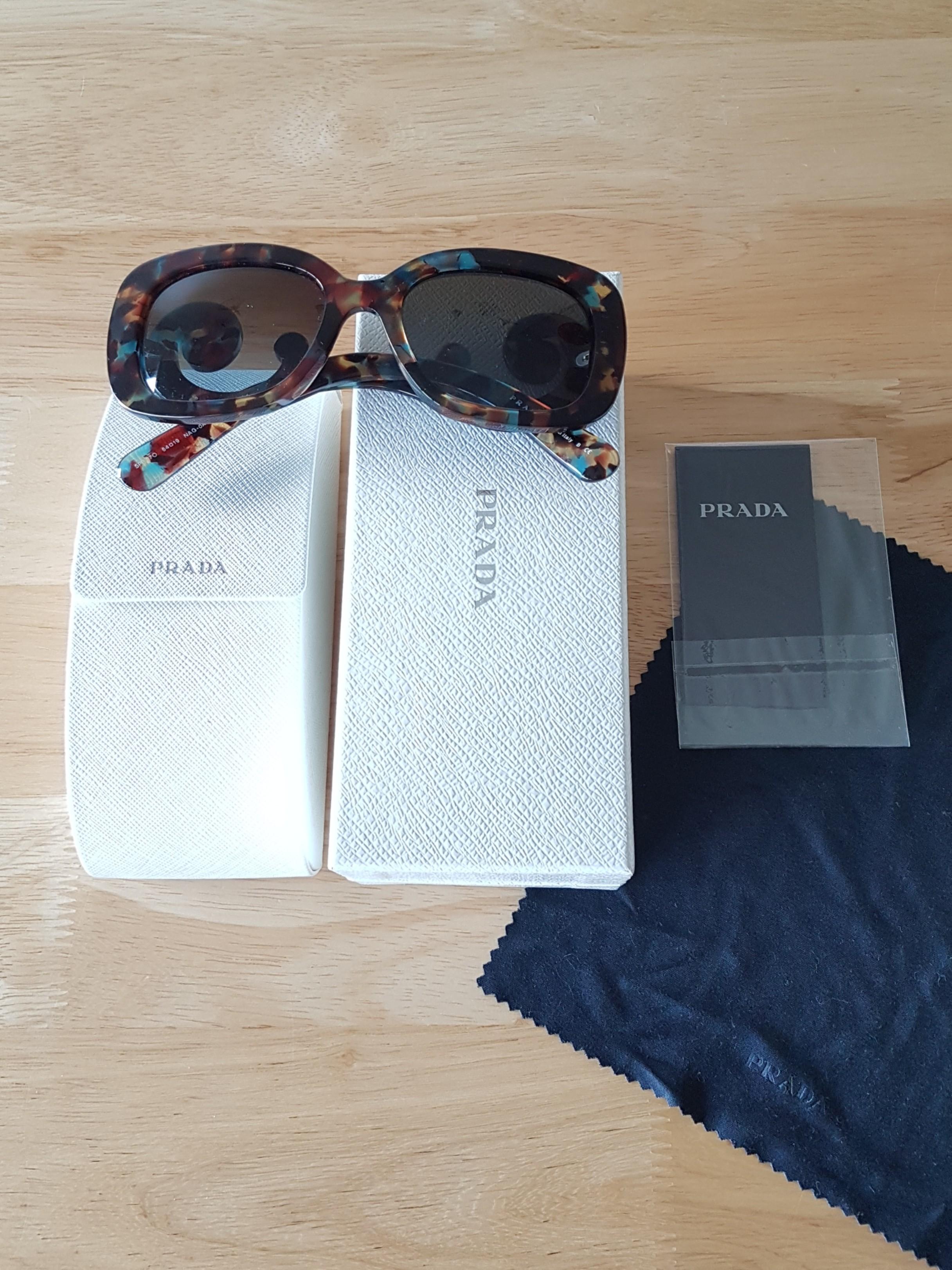 6b59ec70862 Rare Unique Women s Prada Minimal Baroque Sunglasses Prada Eyewear ...