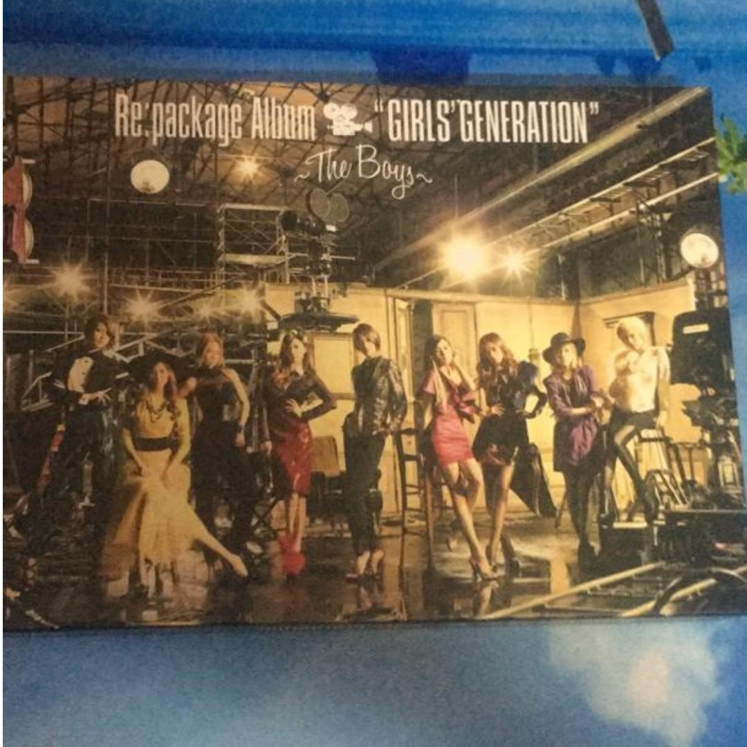 Re Package Album Girls Generation The Boys ( No disc 2)