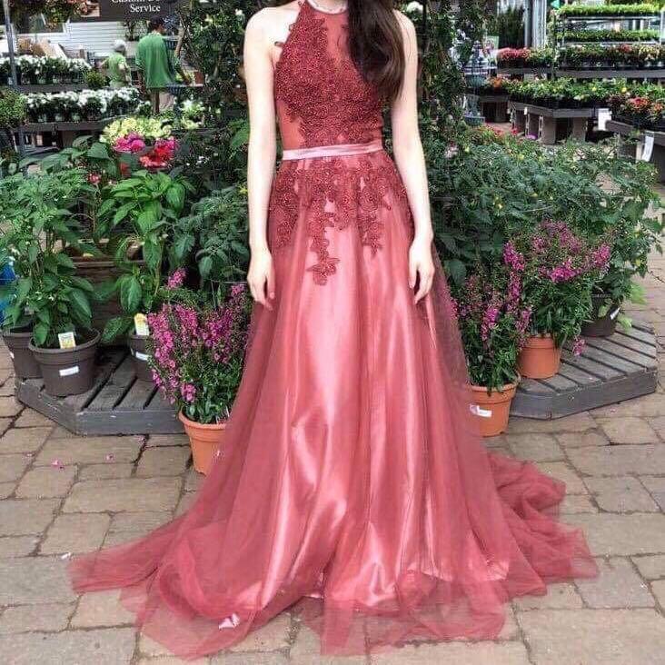 Red/Wine Prom Dress