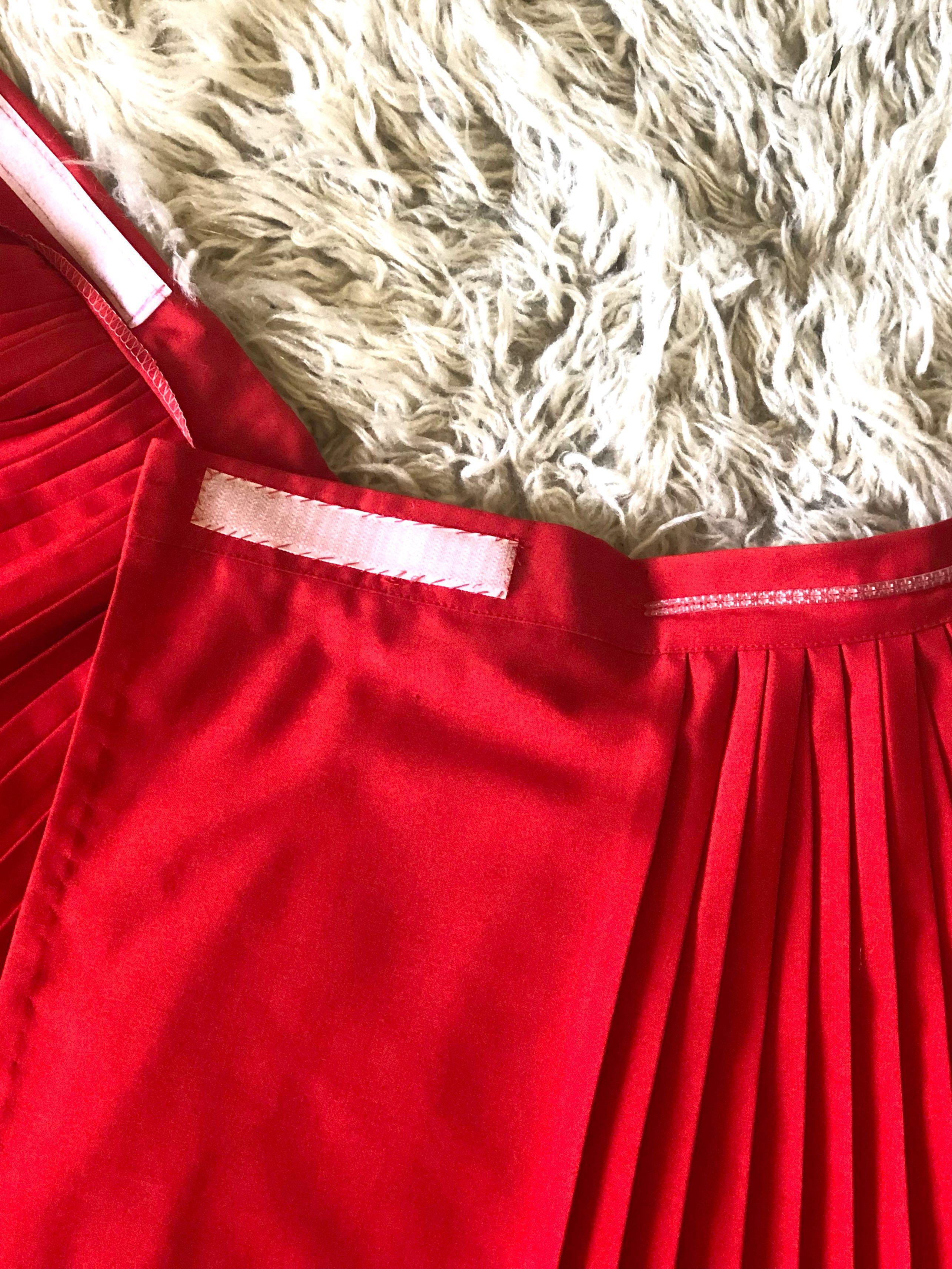 Retro tennis skirt