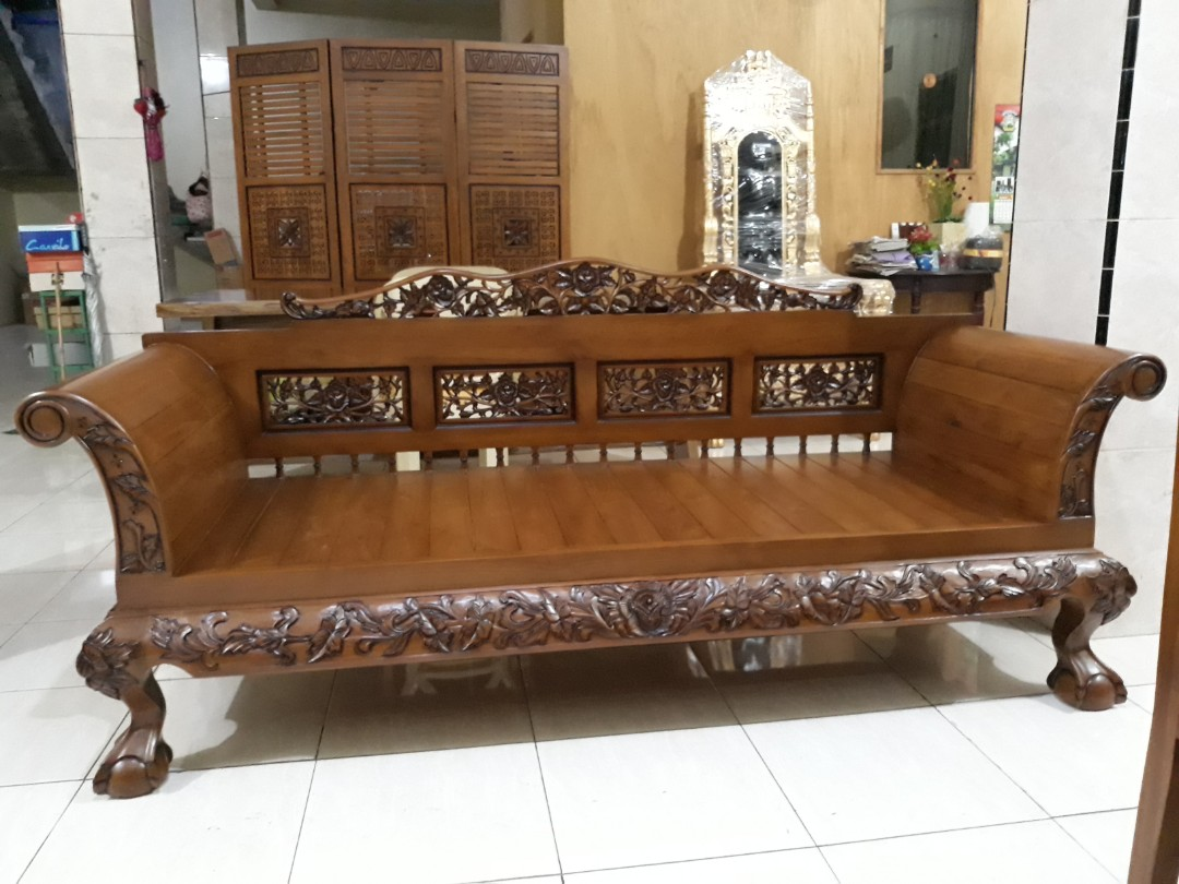 Sofa Jati Mewah Home Furniture On Carousell