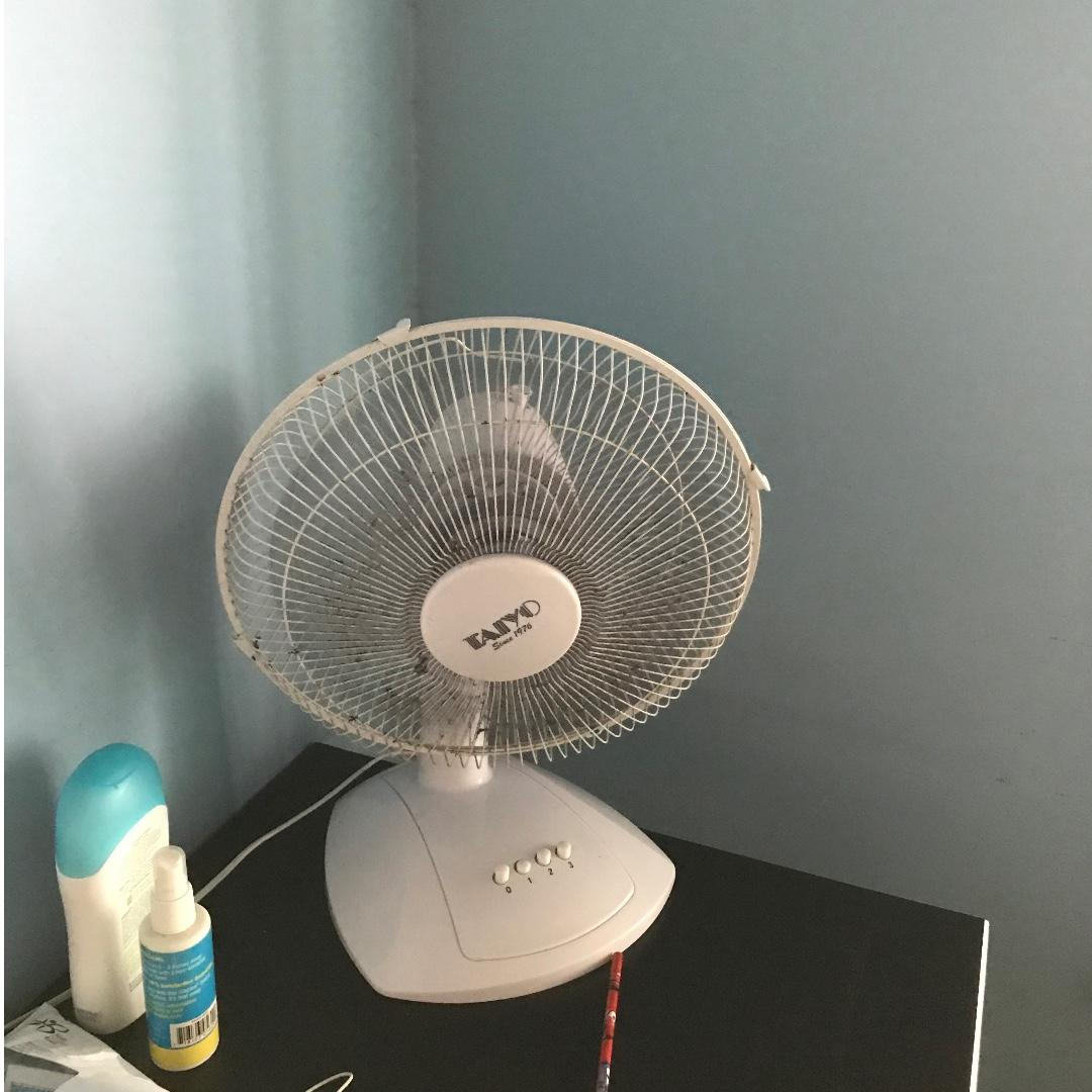 Stand fan and table fan