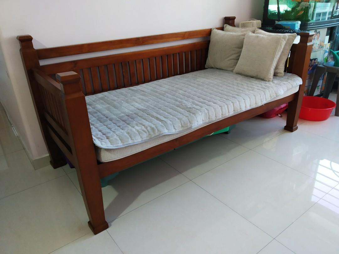Teak Wood Sofa From The Helping Hand Furniture Sofas On