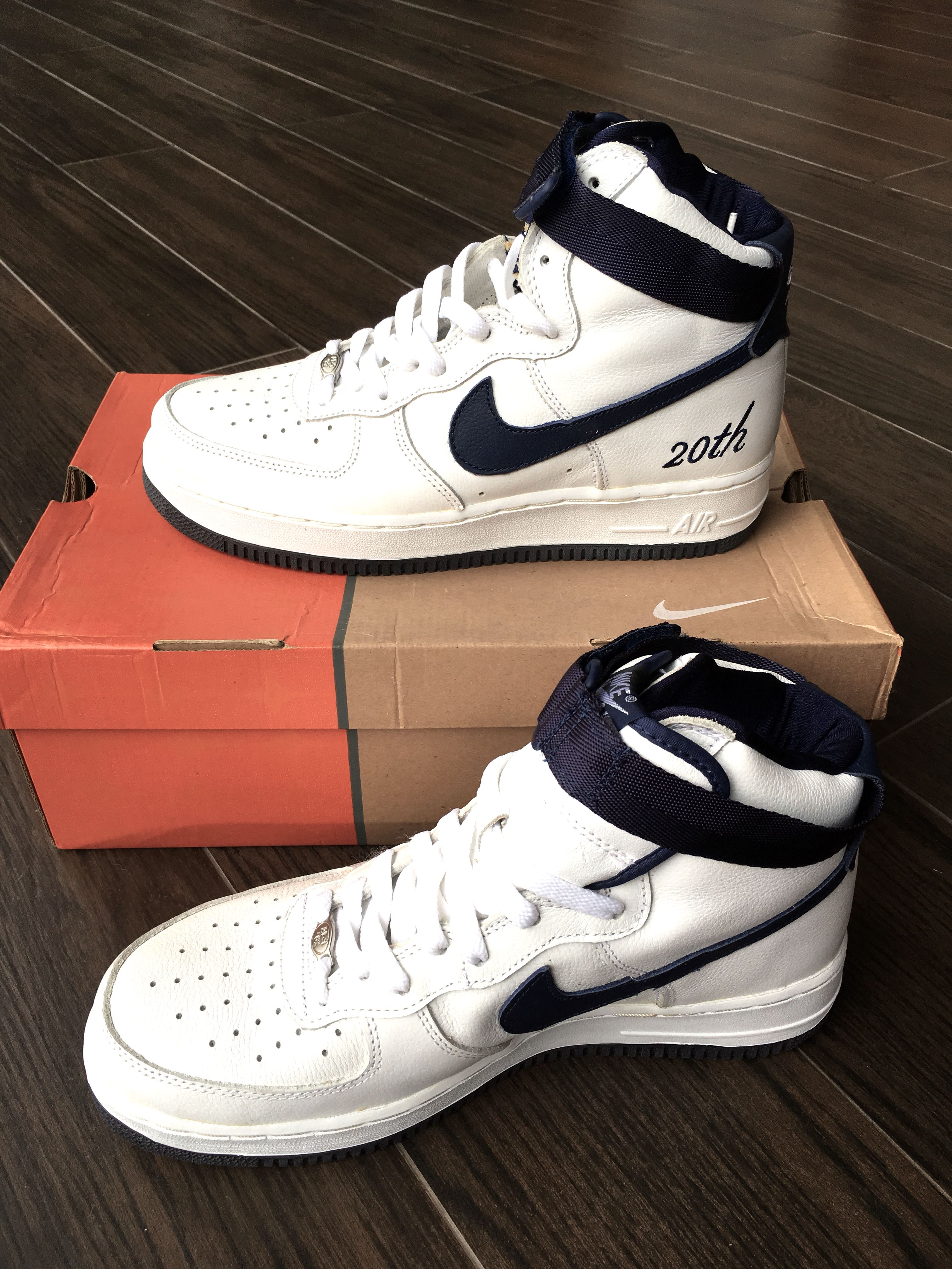 new arrivals e7bba 134f7 US 9.5) Nike Air Force 1 high limited edition 20th anniversary ...