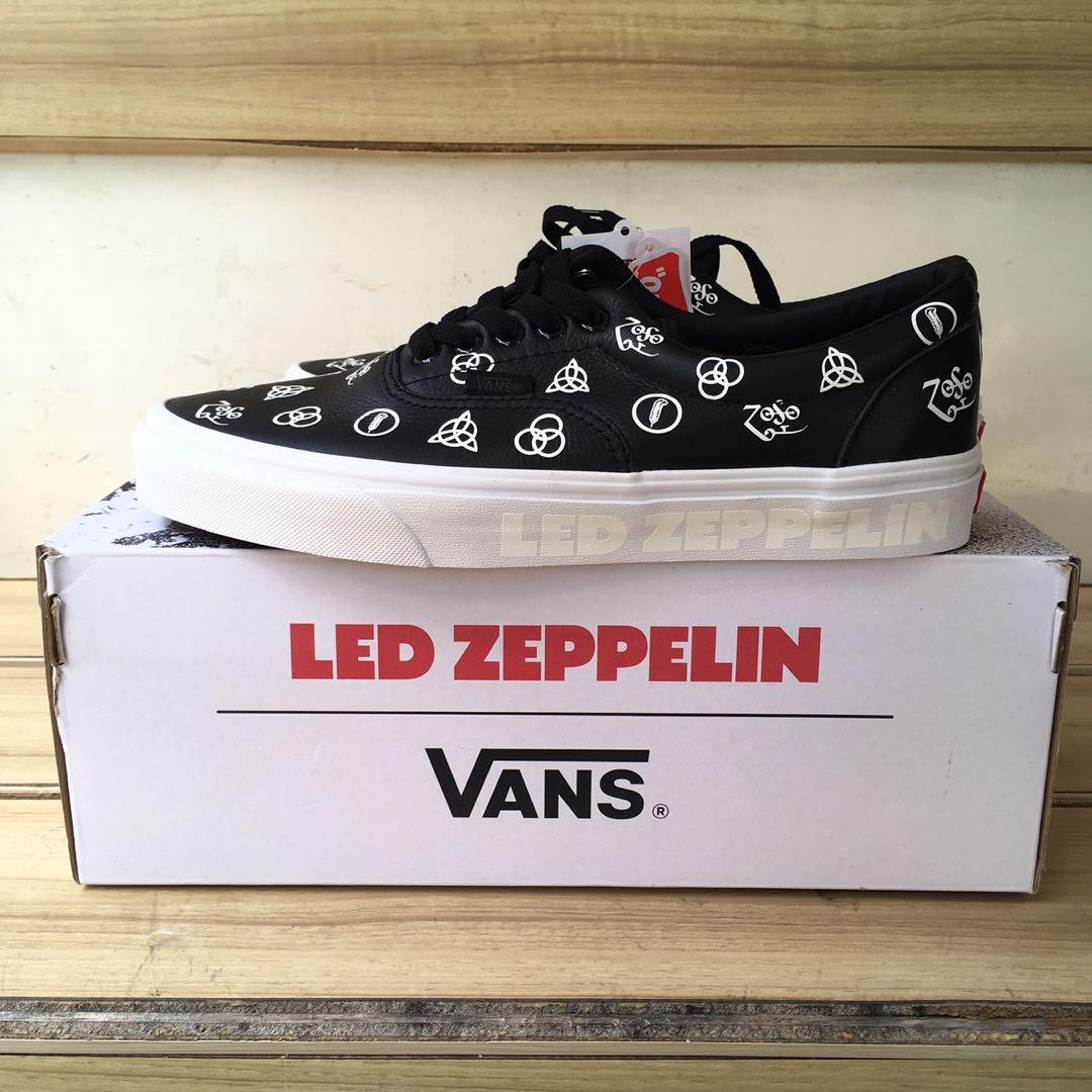 0750bc45d Vans Era x Led Zeppelin, Men's Fashion, Footwear, Sneakers on Carousell