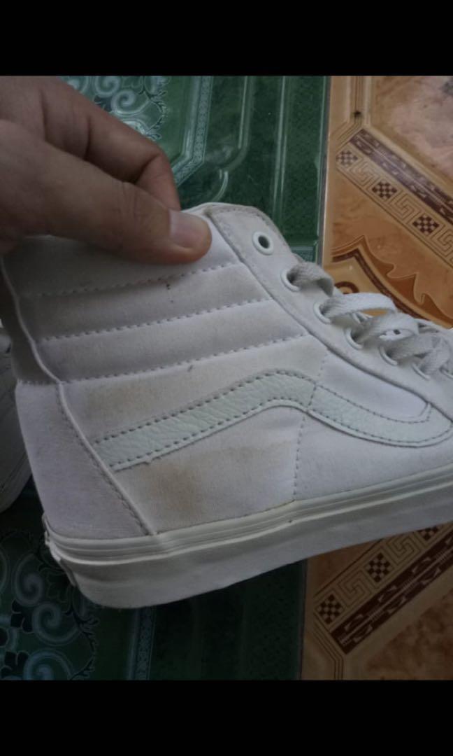Vans sk8 true white (ori)