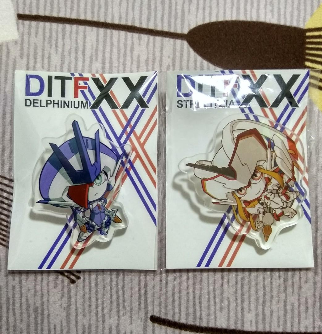 WTS Darling in the FranXX pin together