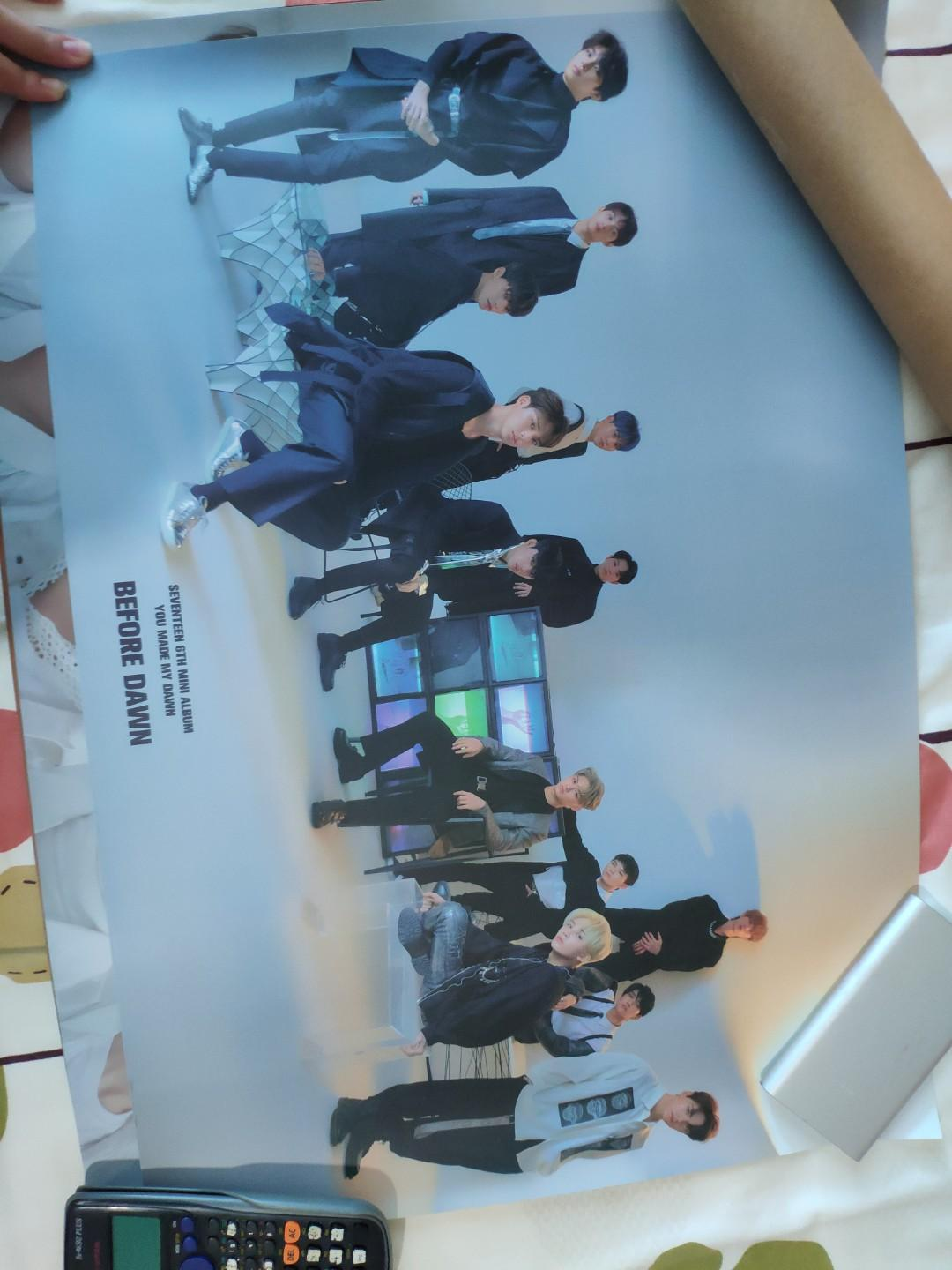 wts SEVENTEEN ymmd poster