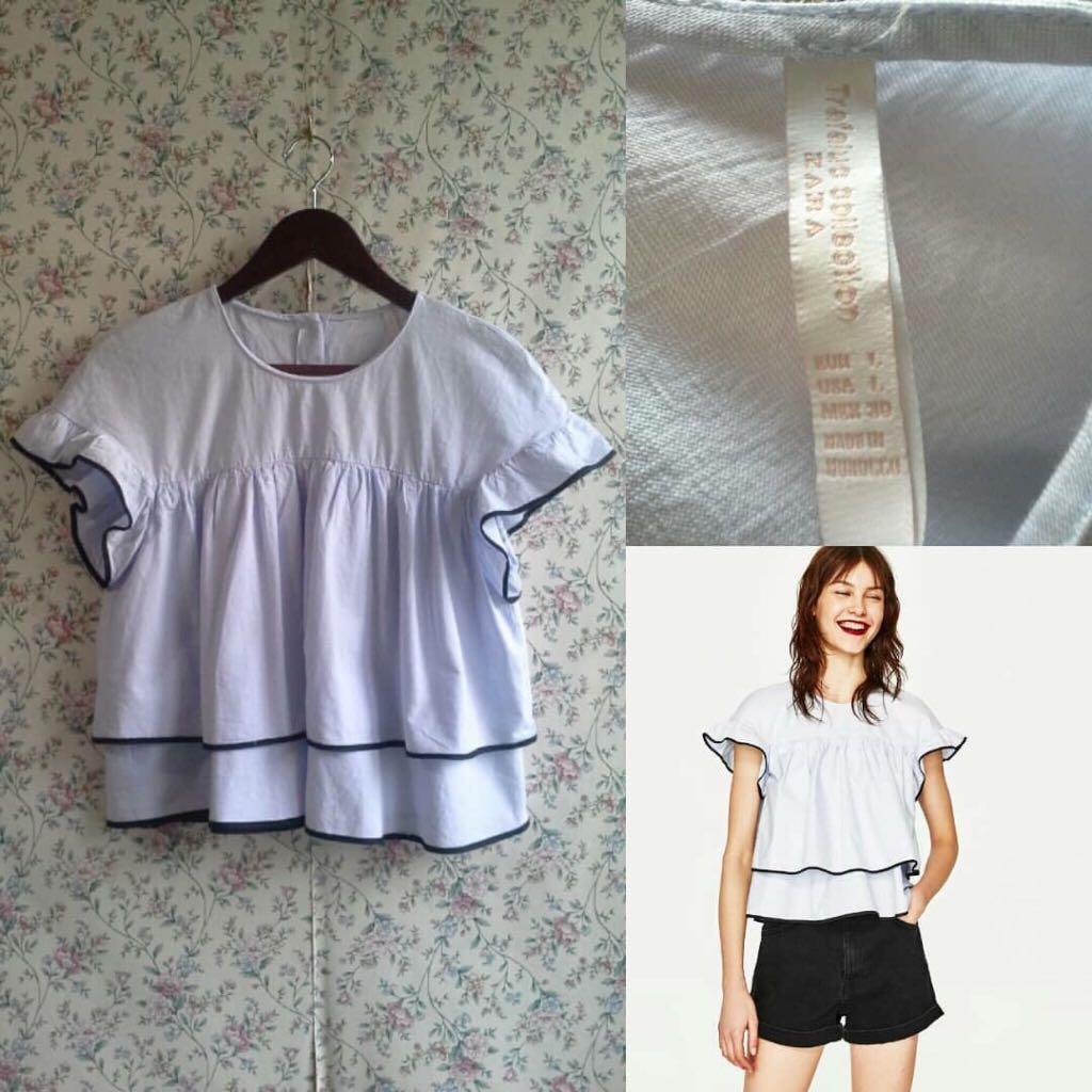 0c4e4e098 Zara poplin baby doll top, Women's Fashion, Clothes, Dresses ...