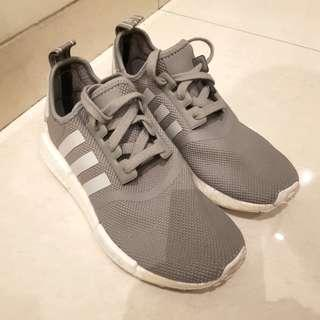 Adidas NMD R1 Grey-white - authentic like new - US5 UK4.5 FR37.5