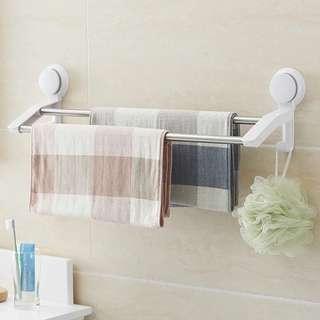 雙管毛巾架