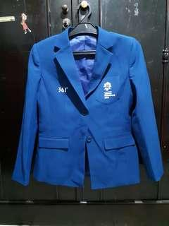 Blazer Biru Asian Games