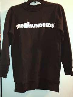 The hundreds black crew neck small