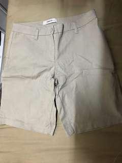 MIT Linen Short 綿麻 短褲