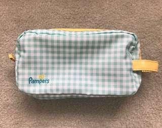 Brand new pampers pouch