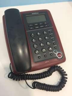 Wired Phone with Digital Display