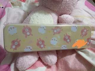卡娜赫拉的小動物 粉紅兔兔筆盒