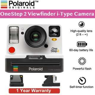🚚 Polaroid Original OneStep 2 Viewfinder i-Type Camera - White