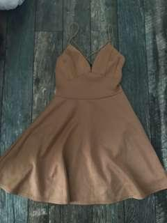Tan Colour Dress