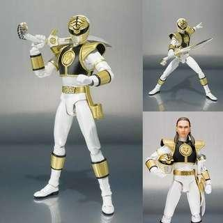 *in stock* S.H. Figuarts Mighty Morphin Power Rangers White Ranger Tommy Oliver 2018 US Ver MISB