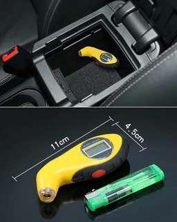 輕巧攜帶方便LED胎壓偵測器 (可偵測胎壓及放氣)  賴lucky2200(小培) FB:南部雜貨舖