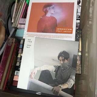 SHINee 金鐘炫 專輯 兩隻$60