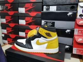 aj1 ochre yellow