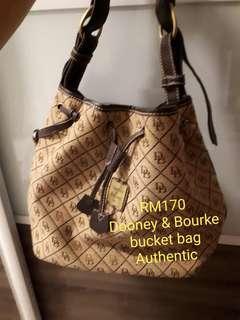 Dooney & Bourke Authentic Bucket Bag