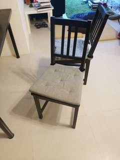 Ikea 黑色單椅