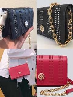 🈹️ Tory Burch Robinson perforated leather mini bag