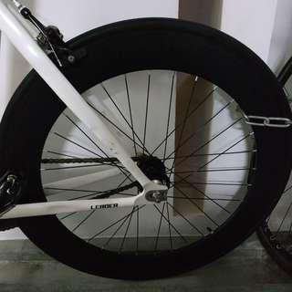 70mm Aluminium Rear Wheel Laced Novatech