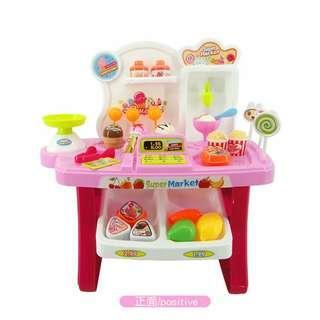 Mainan Toko Es Cream + Kasirnya