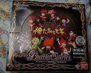 放全新兩盒 Battle Spirits BSC32 原盒