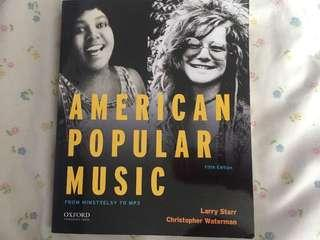 American popular music 5th edition