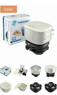 Travel cooker (periuk nasi travel)
