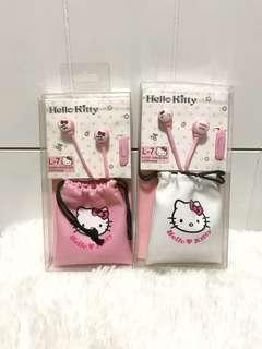 Hello kitty earphones (Brand New)
