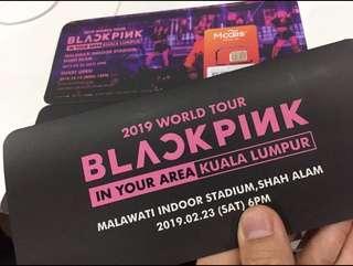 Blackpink Malaysia 1 Blink ticket: RM370