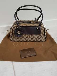 Authentic Gucci small dome bag