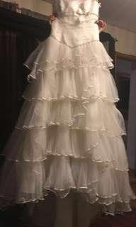 Wedding gown- Jonathan James