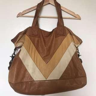 XL genuine soft leather bag