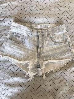 Stussy denim shorts
