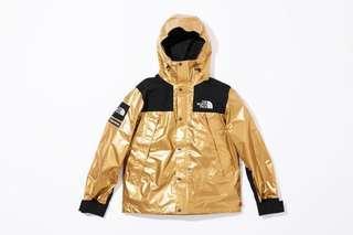 Supreme x North Face Parka (Gold)