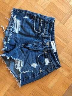 Festival Jean Shorts